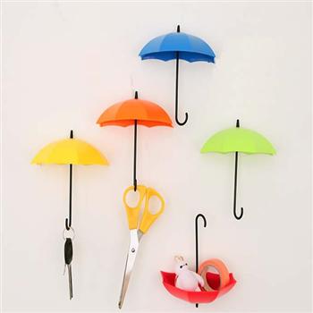 ست 6تایی آویز های دیواری طرح چتر