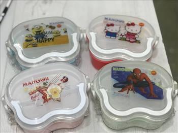 ظرف غذای کودک دسته دار مایکروفری و فریزری