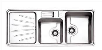 سینک توکار استیل البرز مدل 814