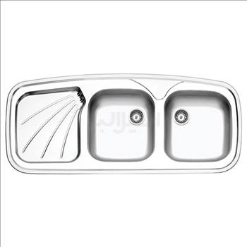 سینک نیمه فانتزی توکار استیل البرز مدل 270