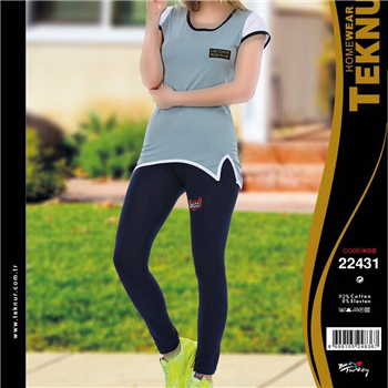 تی شرت شلوار ترک - Teknur 22431