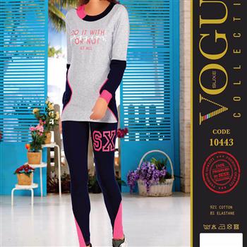 بلوز شلوار زنانه ترک - 10443 Vogue