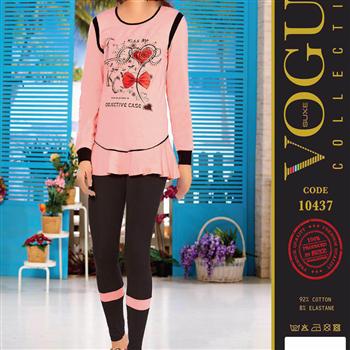 بلوز شلوار زنانه ترک - 10437 Vogue