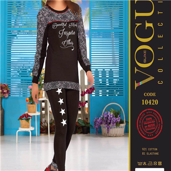 بلوز شلوار زنانه ترک - 10420 Vogue