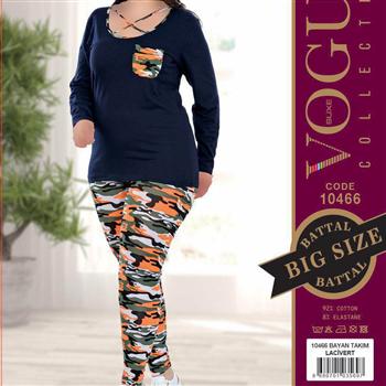 بلوز شلوار زنانه ترک - 10466 Vogue