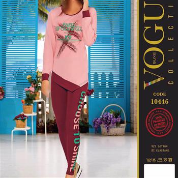 بلوز شلوار زنانه ترک - 10446 Vogue