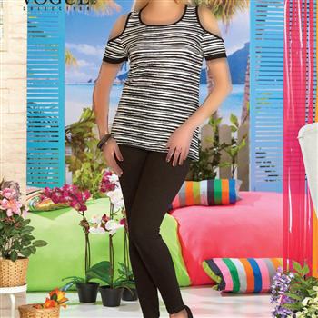 تی شرت شلوار زنانه ترک - 10201 Vogue