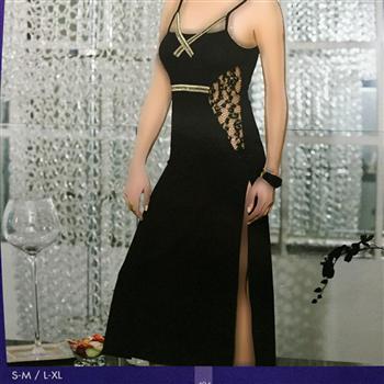 لباس خواب بلند زنانه ترک - 902 Lolitam