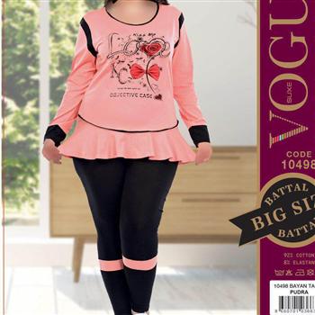 بلوز شلوار زنانه ترک - 10498 Vogue