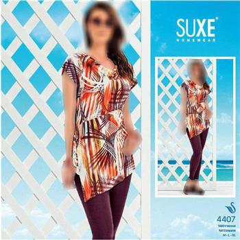 بلوز شلوار ترک - 4407 Suxe