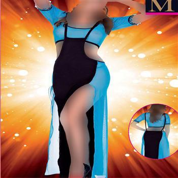 لباس خواب بلند زنانه ترک - 4177 MyBen