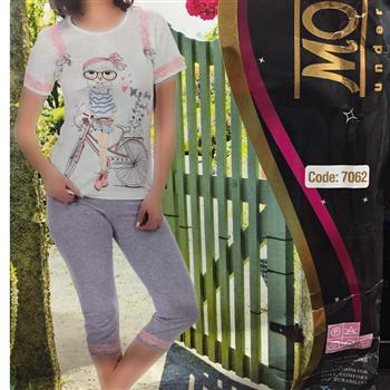 تی شرت شلوارک ترک - 7062- Mody