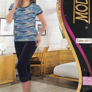 تی شرت شلوارک ترک - 6477- Mody