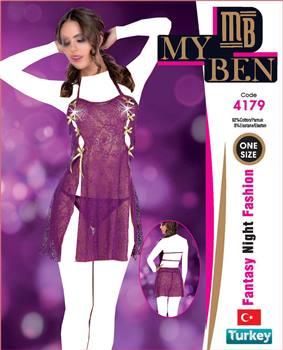 لباس خواب  زنانه  4179 MyBen