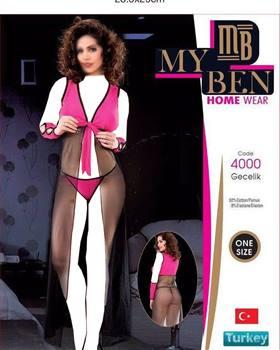 لباس خواب بلند زنانه 4000 MyBen