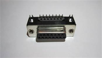 سوکت سریال -  15پین - مادگی-رایت انگل