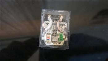 رله شیشه ای- 2کنتاکت - 24ولت - 10آمپر- برند Goodsky