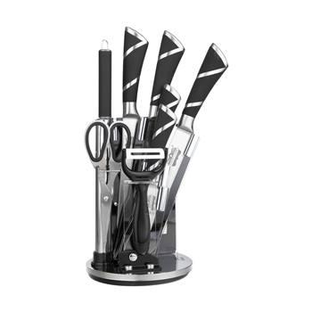 ست چاقو 9 پارچه رومانتیک هوم مدل WLD-33F