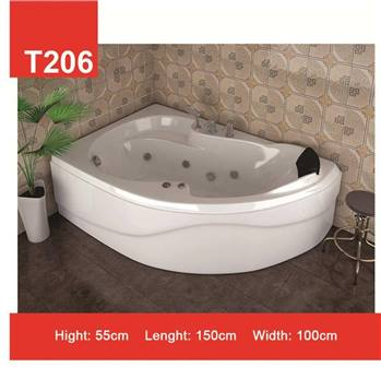 وان و جکوزی حمام Tenser مدل T206