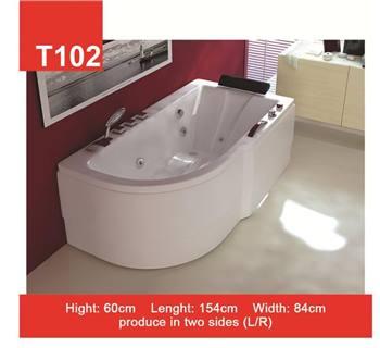 وان و جکوزی حمام Tenser مدل T102