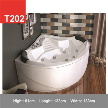 وان و جکوزی حمام Tenser مدل T202