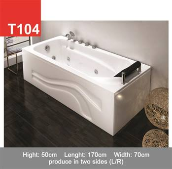 وان و جکوزی حمام Tenser مدل T104