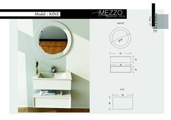 روشویی کابینت دار مزو MEZZO مدل Kine