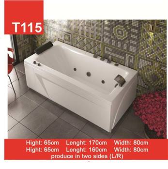 وان و جکوزی حمام Tenser مدل T115