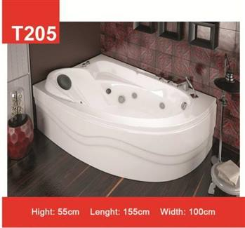 وان و جکوزی حمام Tenser مدل T205