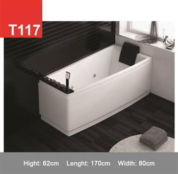 وان و جکوزی حمام Tenser مدل T117