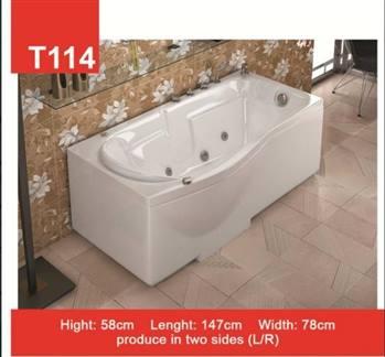 وان و جکوزی حمام Tenser مدل T114