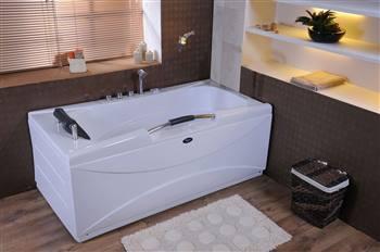 وان حمام ساده یک نفره شاینی مدل N-BT007
