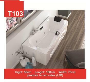 وان و جکوزی حمام Tenser مدل T103