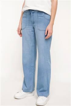 شلوار جین راحت سایز بزرگ دفاکتو Defacto مدل H9399AZ.18SP.BE389