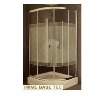 دور دوشی حمام ترک آرمه استاندارد طلایی مدل Arsh 100*100