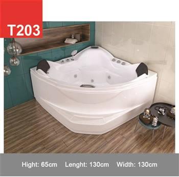وان و جکوزی حمام Tenser مدل T203 پله دار