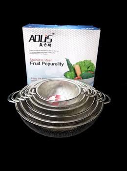 آبکش 6 پارچه استیل پانچی ADLIS