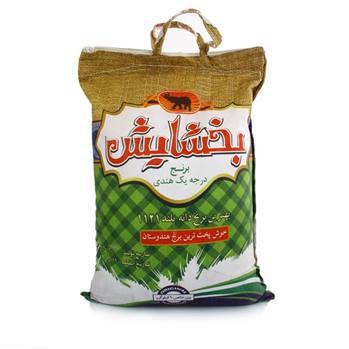 برنج درجه یک هندی دانه بلند بخشایش 10کیلوگرم