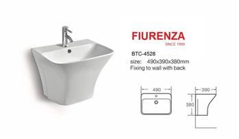 روشویی نیم پایه مدل فیورنزا FIURENZA کد 4528