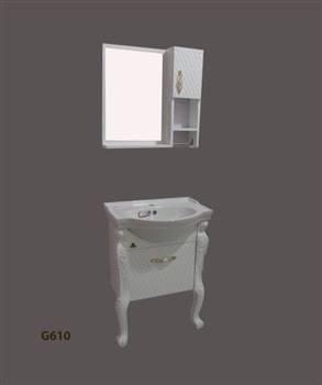 کابینت روشویی  نیو کابین مدل نانسی سلطنتی G610