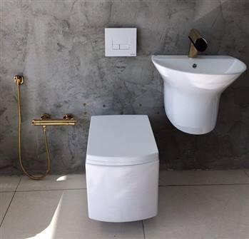 توالت دیواری فیورنزا FIURENZA کد 7010