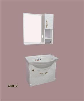 کابینت روشویی دیواری نیو کابین مدل نانسی سلطنتی w6012