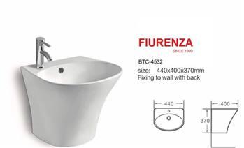 روشویی نیم پایه یک تکه  فیورنزا FIURENZA کد 4532