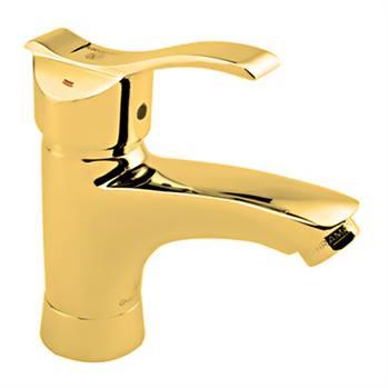 شیر روشویی قهرمان مدل آبشار رویال طلایی