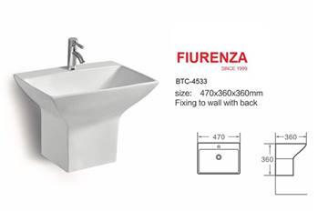 روشویی نیم پایه مدل فیورنزا FIURENZA کد 4533