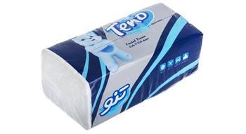 دستمال کاغذی نایلونی تنو 250 برگ