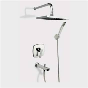 شیر  حمام توکار راسان مدل فلت کلاس 1
