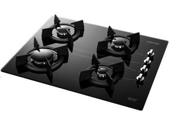 اجاق گاز چهارشعله شیشهای استیل البرز مدل G4601