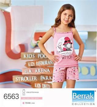تاپ شورت دخترانه  ترک  Berrak مدل 6563