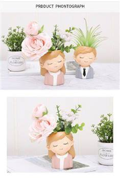 گلدان دختر و پسر